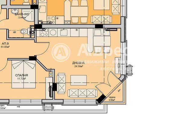 двустаен апартамент бургас at52u1eu