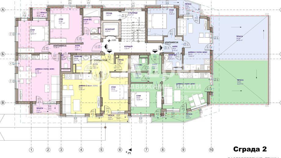 двустаен апартамент бургас enlh8h58