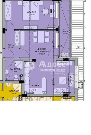 двустаен апартамент бургас p9a7bemh
