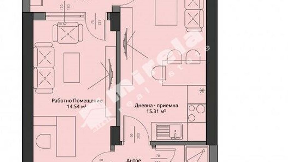 двустаен апартамент бургас rkvcpbtb