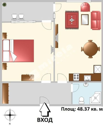 двустаен апартамент варна 1duw53qn