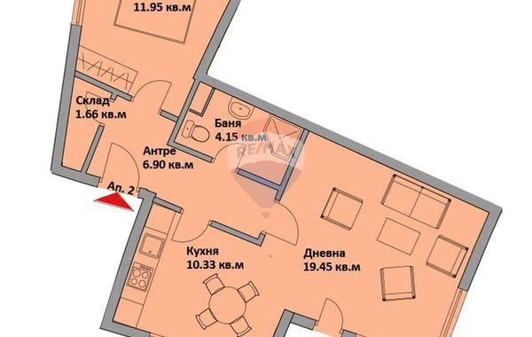 двустаен апартамент варна 27nlhutp