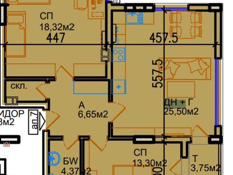 двустаен апартамент варна 75ytvw7m