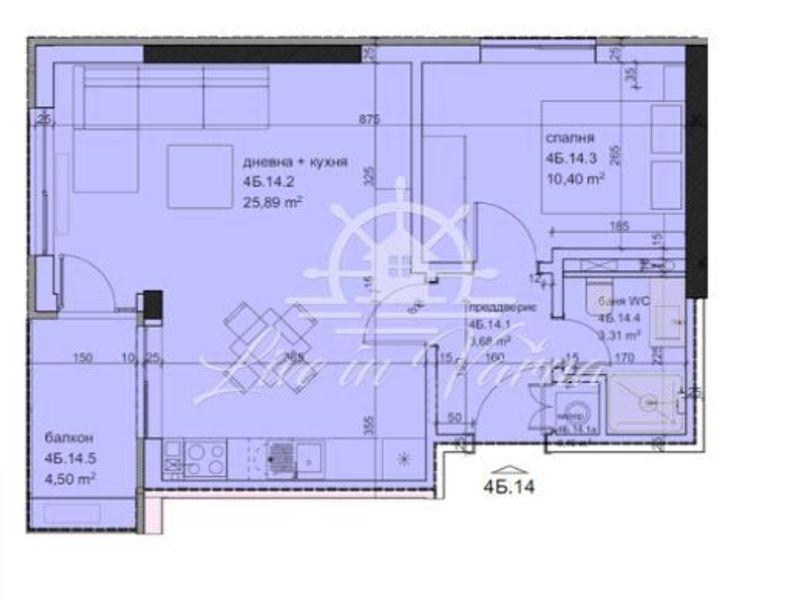 двустаен апартамент варна c9hqbd12