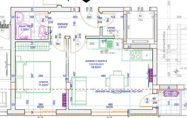 двустаен апартамент варна d3ptk42w