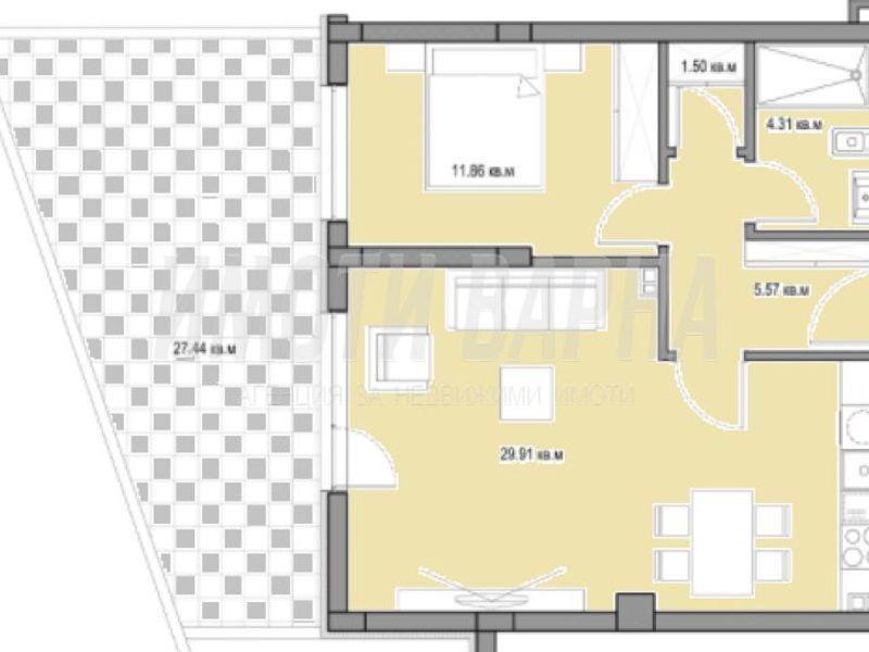 двустаен апартамент варна f97cu9af