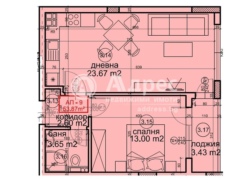 двустаен апартамент варна he1gc4he