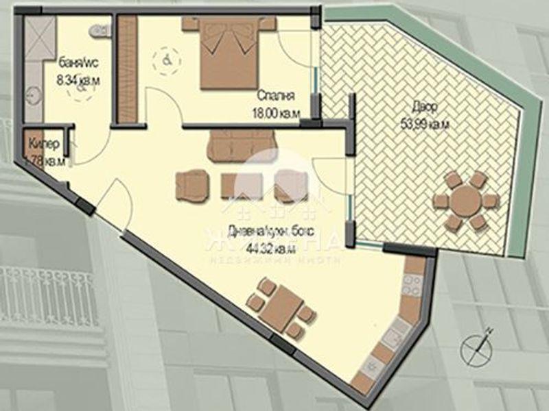 двустаен апартамент варна hxkc6ngs