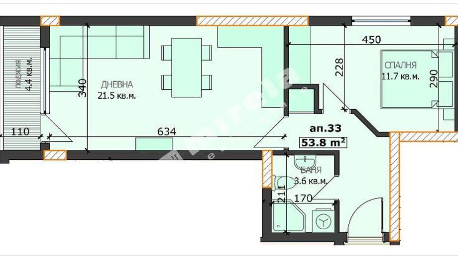 двустаен апартамент варна jkefxs21
