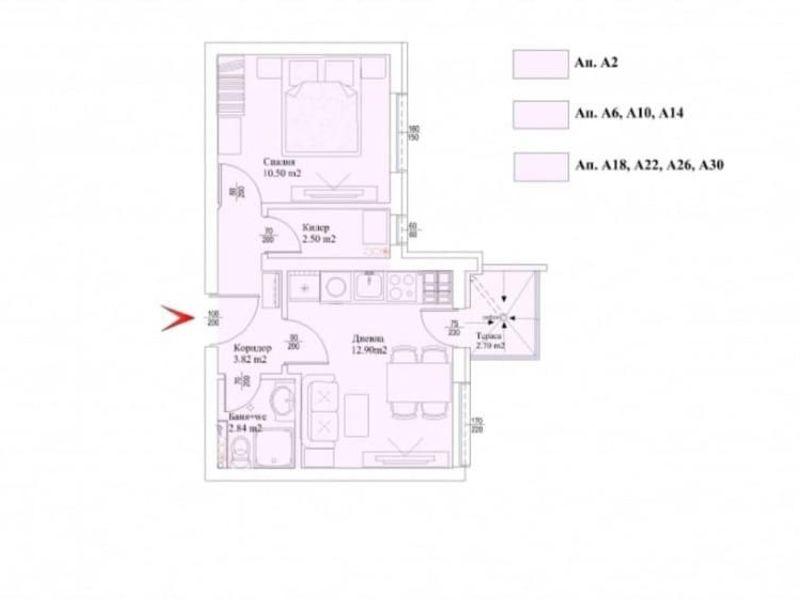 двустаен апартамент варна k3ca61b4