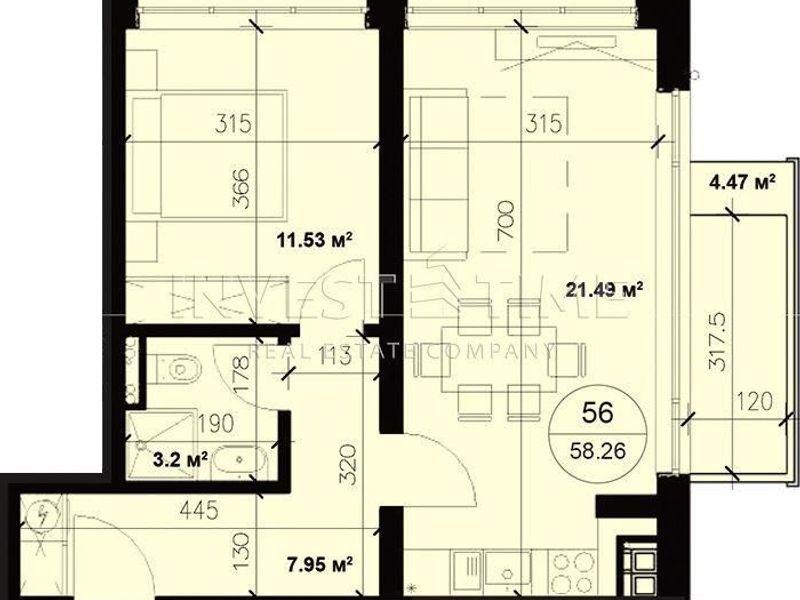 двустаен апартамент варна ksd977jg
