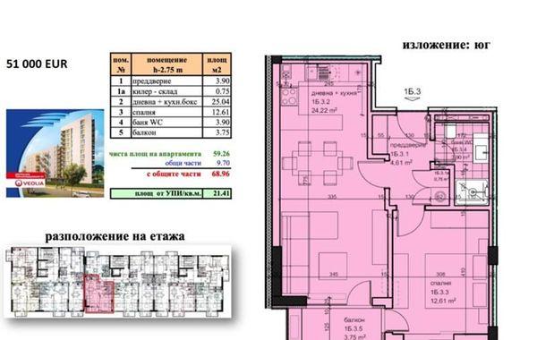 двустаен апартамент варна nqgws2hh