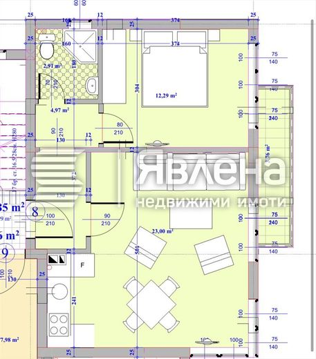 двустаен апартамент варна p5hcks7d