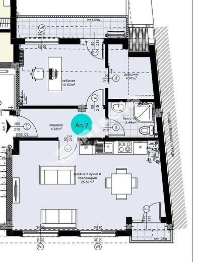 двустаен апартамент варна prb7ejcb