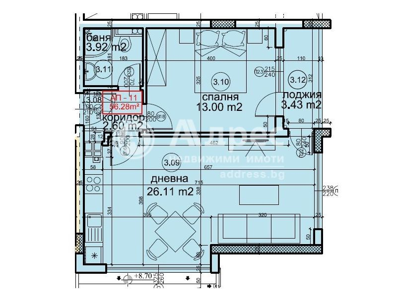 двустаен апартамент варна thvxljtb