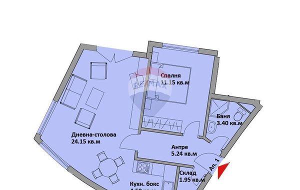 двустаен апартамент варна yyxa5dpp