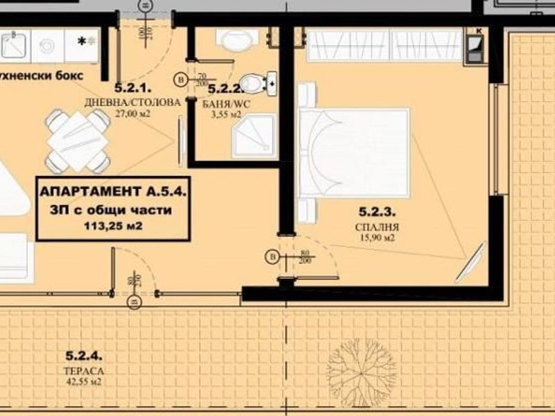 двустаен апартамент елин пелин w71jgx5q