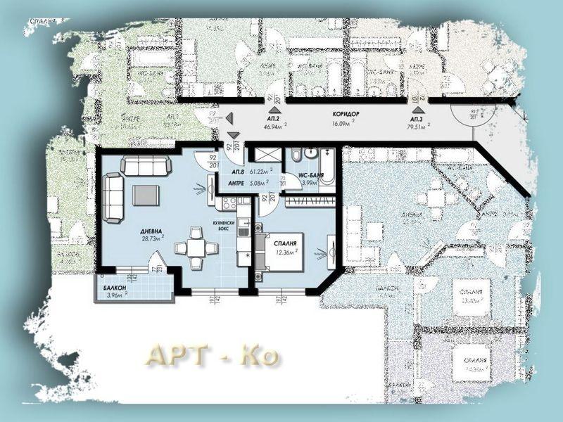двустаен апартамент перник 9cvgkgg4