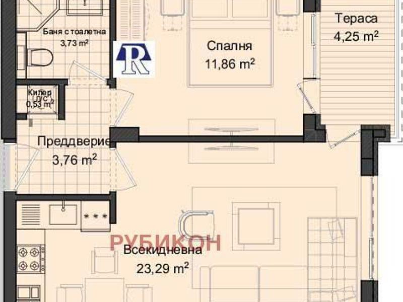 двустаен апартамент пловдив 3298k9v3
