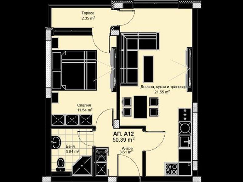 двустаен апартамент пловдив 6pnx17x2