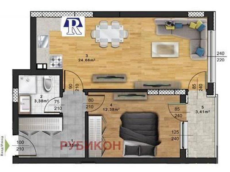 двустаен апартамент пловдив 9x7s3ljc
