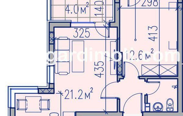 двустаен апартамент пловдив arcnc8n1