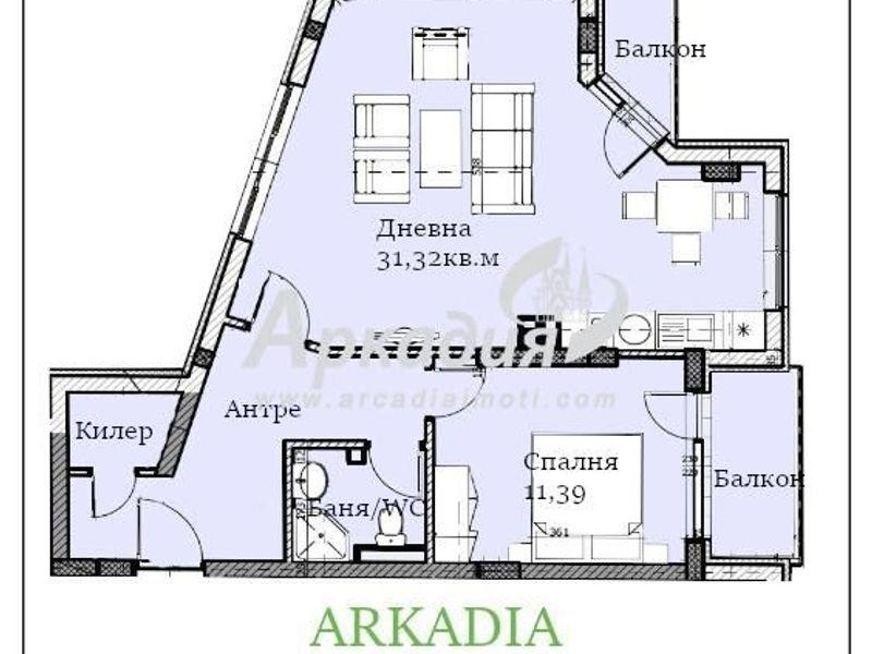 двустаен апартамент пловдив ardbmlal