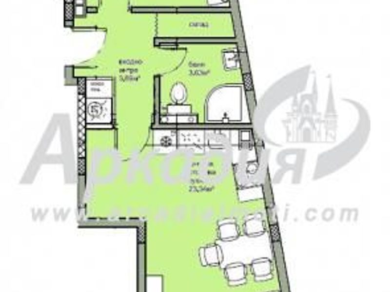 двустаен апартамент пловдив dg618a53