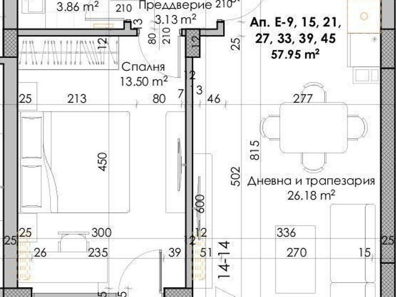 двустаен апартамент пловдив f8184msf