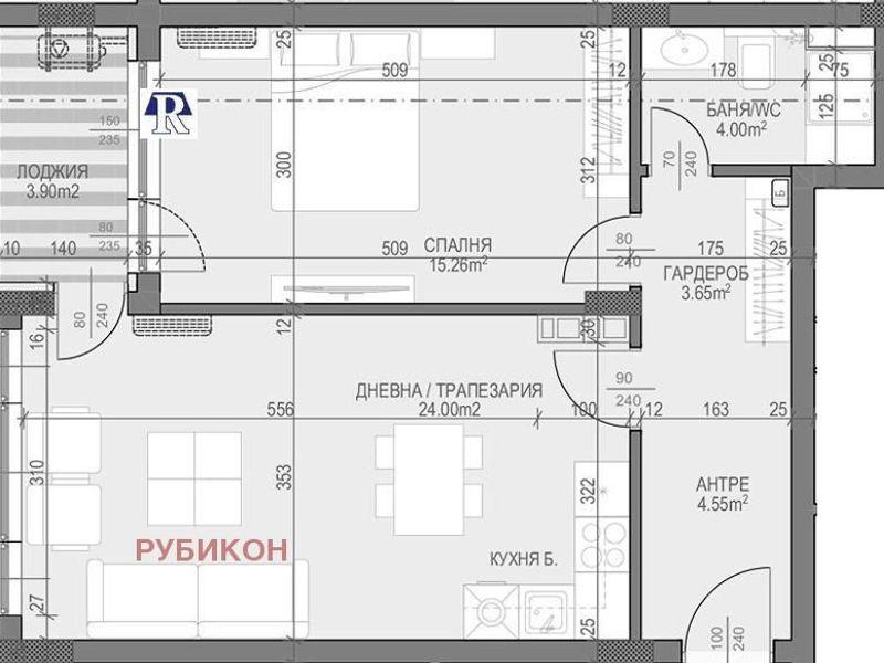 двустаен апартамент пловдив q225brva