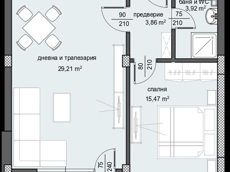 двустаен апартамент пловдив sx94ljs2