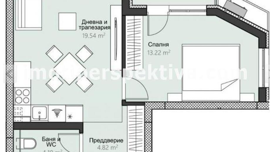 двустаен апартамент пловдив t1gln3b1