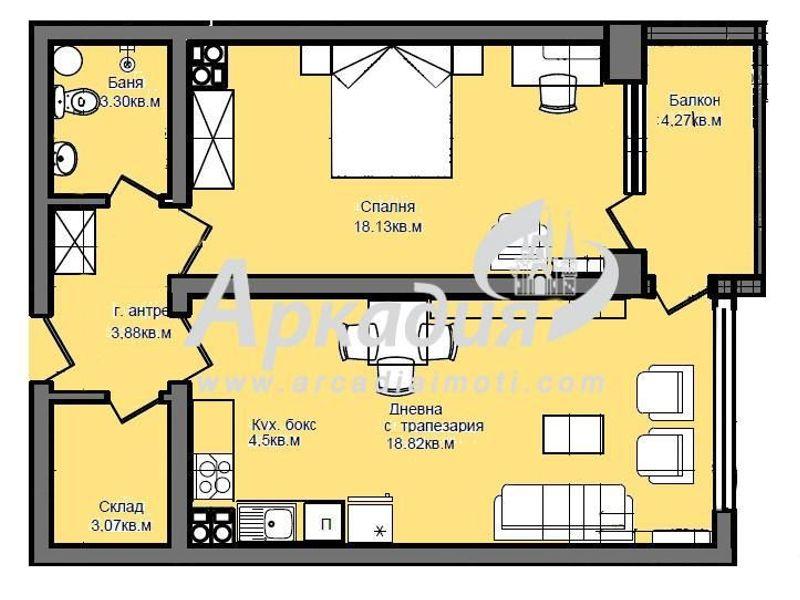 двустаен апартамент пловдив u686q4jy