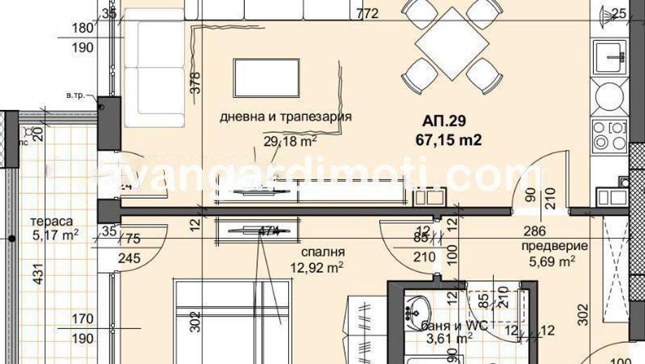 двустаен апартамент пловдив x1cbgbj4