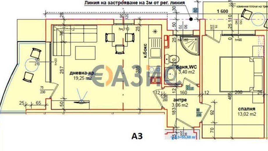 двустаен апартамент равда vq6gqb7s