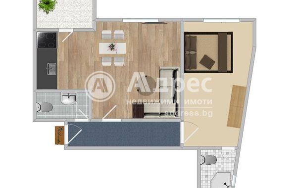 двустаен апартамент русе 1qy44t8d