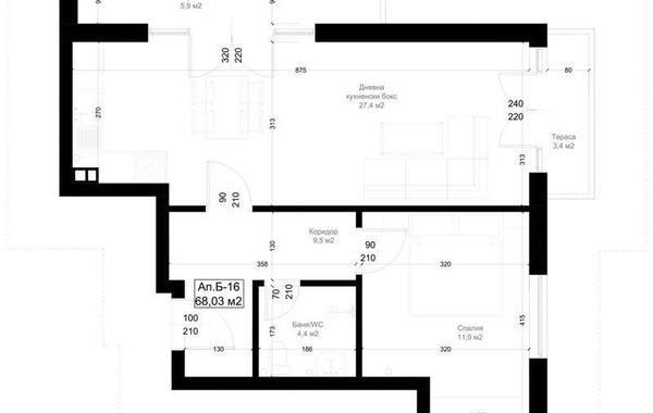 двустаен апартамент русе 9rk64cyh