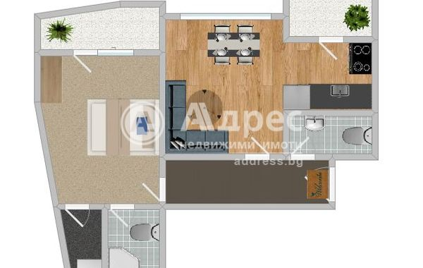 двустаен апартамент русе ss7c9a8k