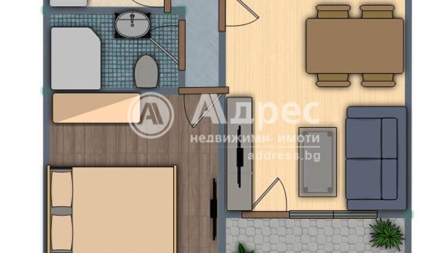 двустаен апартамент русе xf63nwr1