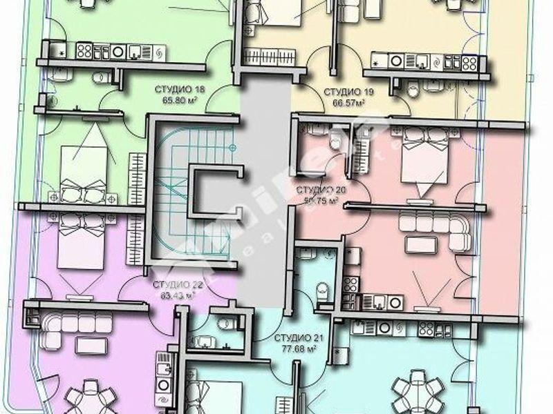 двустаен апартамент созопол 4x86gl83