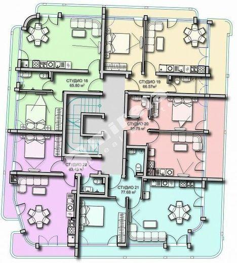 двустаен апартамент созопол n3p1n4h8