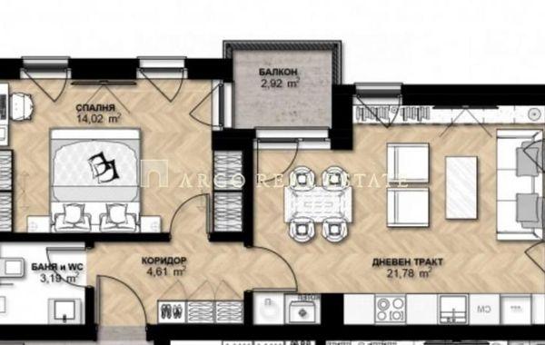 двустаен апартамент софия 13lwar7a
