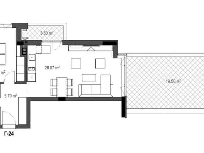 двустаен апартамент софия 13vk5jc8