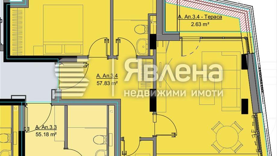 двустаен апартамент софия 24php7pf
