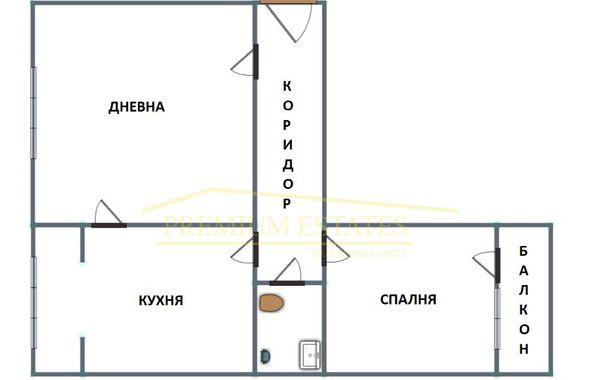 двустаен апартамент софия 2ey33gpt