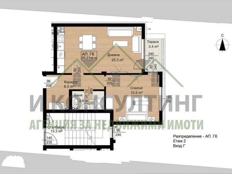 двустаен апартамент софия 2wymb1yn