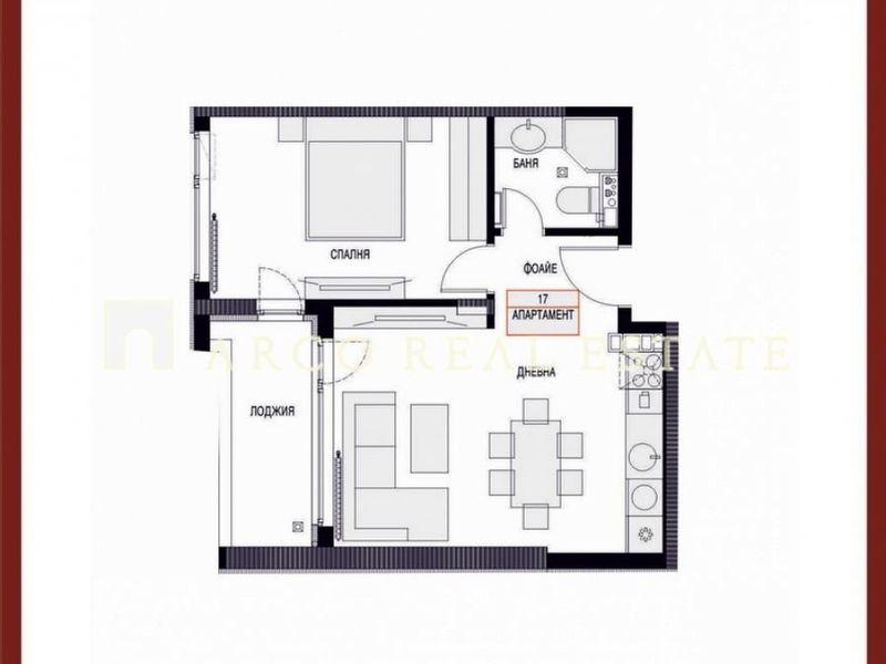 двустаен апартамент софия 34a2hbpx