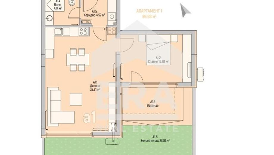 двустаен апартамент софия 3pnlgj8v