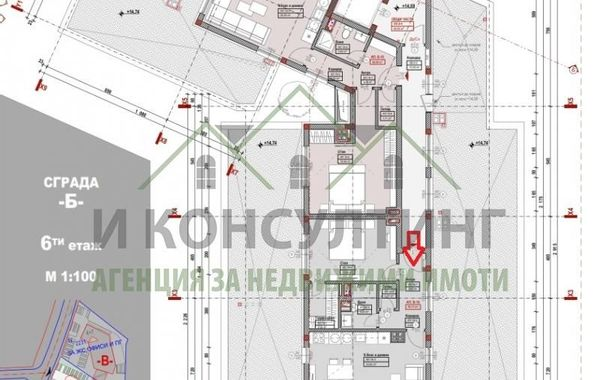 двустаен апартамент софия 3xe6636n