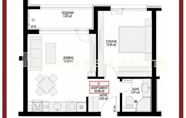 двустаен апартамент софия 44nflrw9